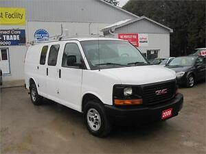 2008 GMC Savana Cargo Van| NO ACCIDENTS|ROOF RACK| SHELVING UNIT