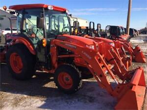Kubota L3560HSTCC Tractor and LA555 Front Loader