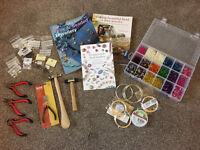 Jewellery making / beadwork supplies - beads, tools, wires, findings, books etc.