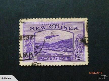 territory New Guinea 1935 AIR £2 Violet SG 204 VERY high CV