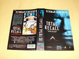 """JAQUETTE VHS """"Total Recall"""" Schwarzenegger - France - État : Occasion: Objet ayant été utilisé. Objet présentant quelques marques d'usure superficielle, entirement opérationnel et fonctionnant correctement. Il peut s'agir d'un modle de démonstration ou d'un objet retourné en magasin aprs une - France"""