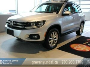 2017 Volkswagen Tiguan WOLFSBURG-APPLE CAR PLAY HEATED LEATHER S