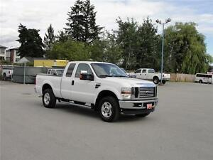 2010 FORD F-250 SUPER DUTY XLT EXT CAB SHORT BOX 4X4 LEATHER