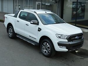 2016 Ford Ranger PX Mkii MY17 Wildtrak 3.2 (4x4) White 6 Speed Automatic Concord Canada Bay Area Preview