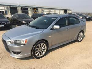 2008 Mitsubishi Lancer GTS-SUNROOF-HTD SEATS-LOADED-ALLOYS