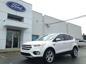 2017 Ford Escape Titanium 4x4 with Navigation, Trialer Tow, Reve