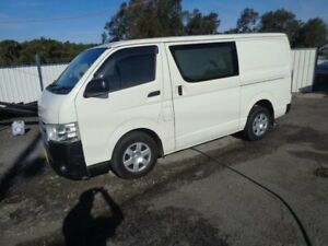 2016 Toyota HiAce KDH201R MY16 LWB White 4 Speed Automatic Van Sandgate Newcastle Area Preview