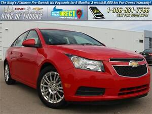 2014 Chevrolet Cruze ECO Local | One Owner | PST Paid