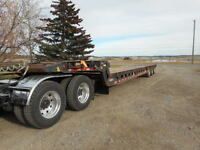 1999 Peerless 40 ton Triaxle scissorneck with tail roll