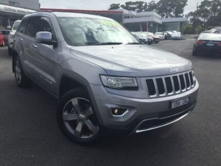 2014 Jeep Grand Cherokee Silver Sports Automatic Wagon