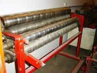 Profile Rollers for sheet metal