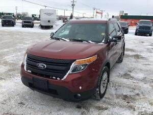 2014 FORD EXPLORER  XLT With Leather and Navigation