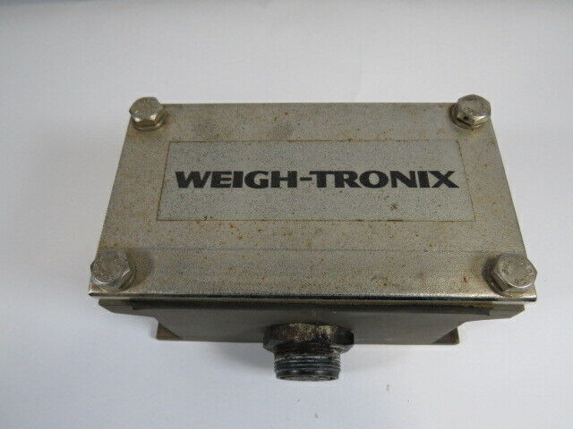 Weigh-Tronix 49548-0063 Weigh Bar Junction Box USED