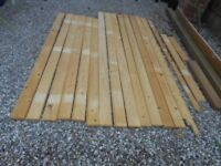 """TIMBER WOOD PLANKS 14 IDEAL FOR FURNITURE, CUPBOARDS 83"""" & 73"""" LENGTH"""