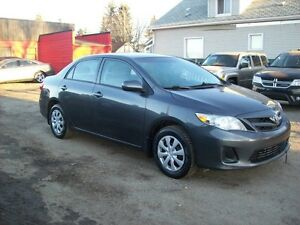 2012 Toyota Corolla AUTO/4DOOR/LOW PAYMENTS Edmonton Edmonton Area image 3