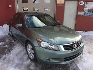 2009  Honda Accord Sdn EX-L/ Cuir/ Toit Ouvrant/JAMAIS ACCIDENTE