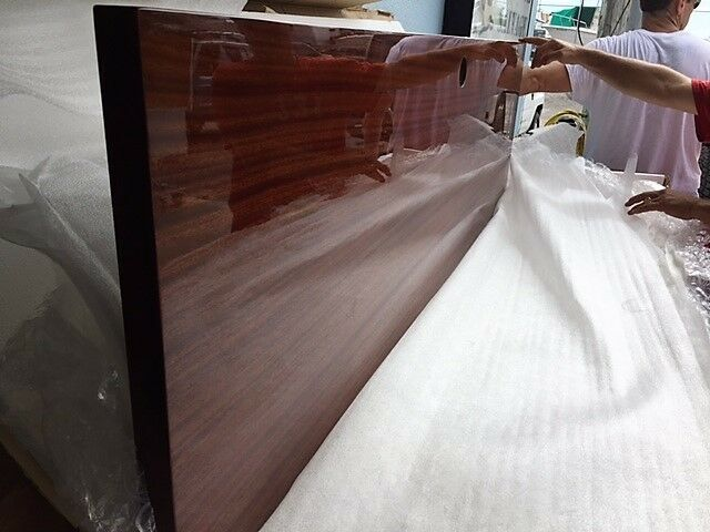 CUSTOM BUILT INTERIOR DOOR FOR A JUPITER BOAT 20 X 68 MIRROR INSET ON ONE SIDE
