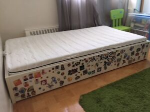 Kids Ikea bed and mattress