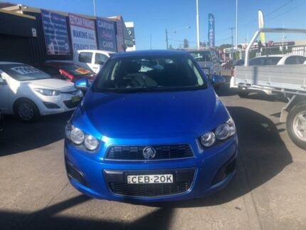 2012 Holden Barina TM MY13 CD Blue 5 Speed Manual Hatchback Cardiff Lake Macquarie Area Preview