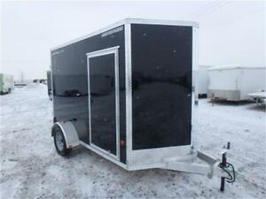 "6 X 10 -*All Aluminum*- Enclosed Trailer -*82"" Interior Height*-"