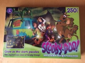 Scooby Doo Glow in the Dark Puzzle. Brand new, still in cellophane.
