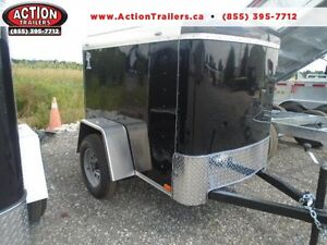 SMALL CARGO TRAILER - 2017 ATLAS ENCLOSED CARGO - EASY TO TOW