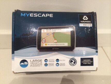 NAVMAN MYESCAPE GPS - Ideal for 4x4! ! BIG SAVINGS North Sydney North Sydney Area Preview