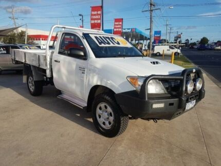 2005 Toyota Hilux KUN26R SR (4x4) 4 Speed Automatic Cab Chassis Deer Park Brimbank Area Preview