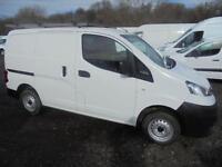 Nissan Nv200 1.5 Dci 89 Se Van DIESEL MANUAL WHITE (2013)