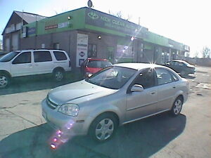 2005 Chevrolet Optra, ONE OWNER, CLEAN CARFAX, CERTIFIED