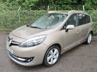 Renault Grand Scenic 1.6 Dynamique Tom Tom Energy DCi 130 Turbo Diesel 7 Seater (dune) 2014