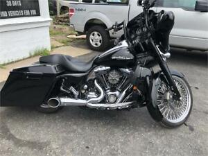 2009 Harley Street Glide - Many Extra Add Ons