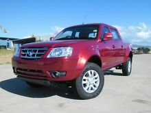 2015 Tata Xenon 4x4 Dual Cab Pick-up Mineral Red 5 Speed Manual Dual Cab Garbutt Townsville City Preview