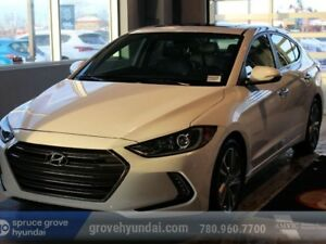 2017 Hyundai Elantra LIMITED-NAVIGATION SUNROOF LEATHER & MORE