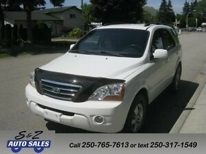 2008 Kia Sorento LX 4x4 BEAUTIFUL SUV!