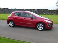2012 PEUGEOT 308 HDI 1.6 ACTIVE ONLY 34000 MILES OUTSTANDING CONDITION FINANCE AVALIABLE