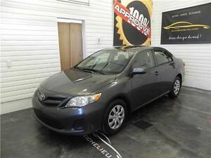 2011 Toyota Corolla LE air,bluetooth,sieges chauffants