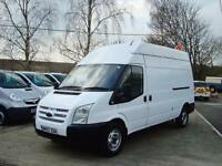 2008 FORD TRANSIT 2.4 TDCI LWB High Roof 100ps Panel Van
