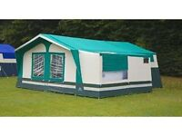 2008 Sunncamp Trailer Tent with Weave Text flooring and Portaloo