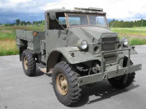 Ultra Rare 1941 Canadian Cab 11/12 CMP Military Truck