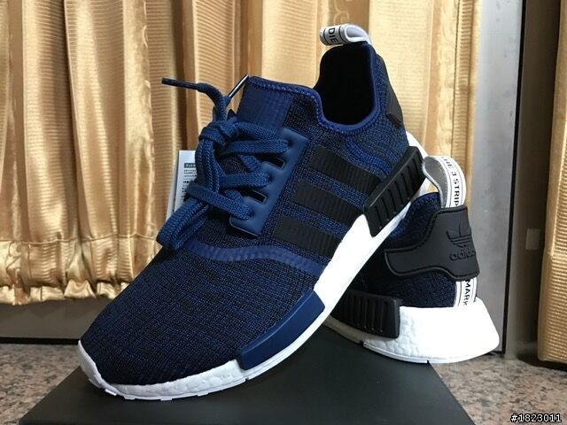 Adidas NMD R1 Mystery Blue Nomad Collegiate Navy New Men Size 7.5-13 BY2775