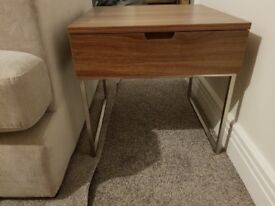 DFS Lamp Table with drawer