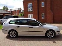 2006 Saab 9-3 2.0T Vector Sport Wagon 5dr Silver Estate Petrol Maunal Only 65k