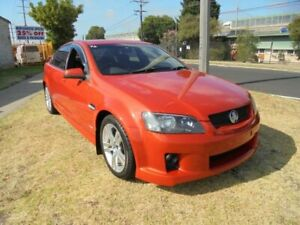 2007 Holden Commodore VE SS Orange 6 Speed Manual Sedan