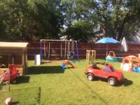 2 Full time daycare spot avilable just for May and June.