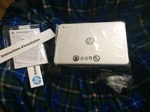 "brand new 14"" HP chromebook"