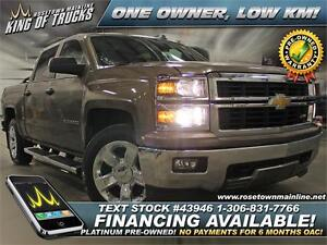 2014 Chevrolet Silverado 1500 LT One Owner | PST Paid | Low KM