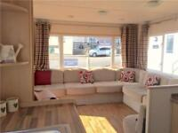 8 berth static holiday home, stunning park near Scarborough & Filey