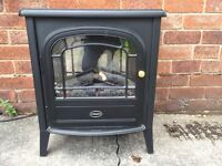 Electric fireplace perfect condition