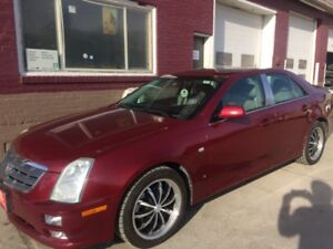 2006 Cadillac STS v8 LEATHER,SUNROOF,NAVIGATION AUTO STRATER